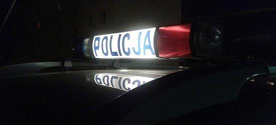 REGION: Pijani poszli na spacer… ze znakiem drogowym