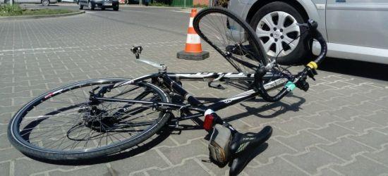 SANOK. Potrącenie rowerzystki na Podgórzu