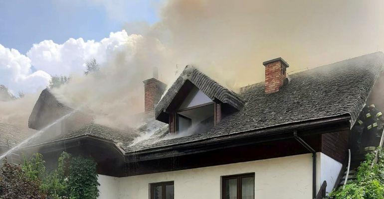 Pożar w Bieszczadach. VIDEO z akcji gaśniczej strażaków