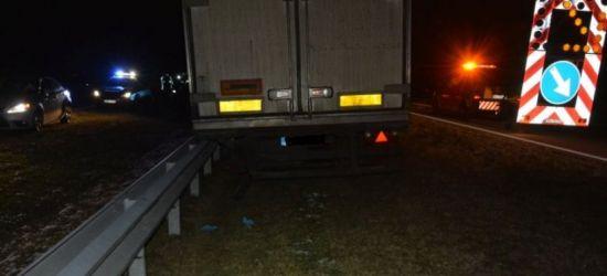 PODKARPACIE. Tragedia na A4. Nie żyje 57-letni kierowca (FOTO)