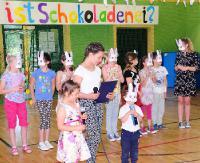 Kindertagsparty? – Ja, natürlich! Dzień Niemiecki na Dzień Dziecka w ZS w Nowotańcu (ZDJĘCIA)