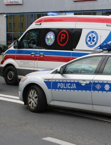 KRONIKA STRAŻACKA: Potrącenie rowerzysty, fałszywy alarm z monitoringu pożarowego i dachowanie