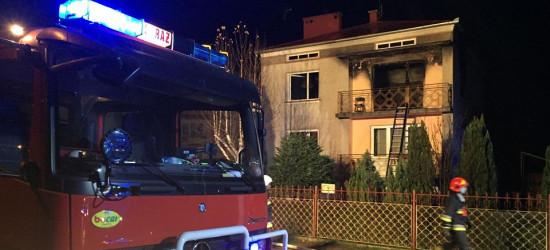 SANOK: Pożar domu. Pięć osób rannych (VIDEO Z AKCJI RATUNKOWEJ, ZDJĘCIA)
