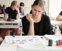 Sanoccy maturzyści ponownie zmagają się z egzaminem dojrzałości. Trwają matury poprawkowe