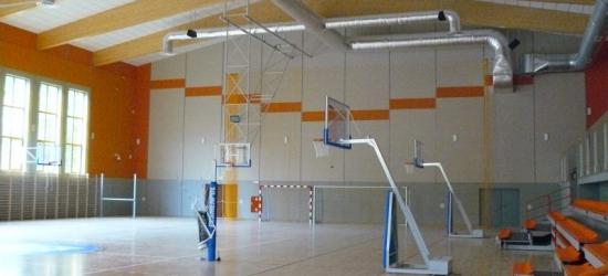 Imponujący obiekt sportowy przy sanockiej PWSZ. Hala czeka na studentów (ZDJĘCIA)