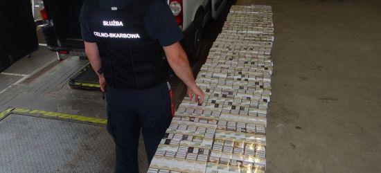 GRANICA: Ujawnili próbę przemytu 840 paczek papierosów