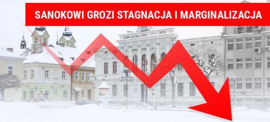 Sanok – miasto stagnacji. Raport Polskiej Akademii Nauk nie pozostawia złudzeń