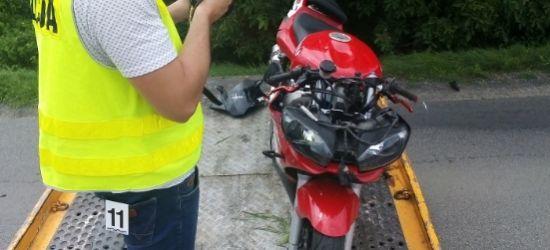 PODKARPACIE: Zginął młody motocyklista