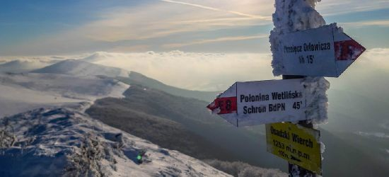Warunki na szlakach w Bieszczadach