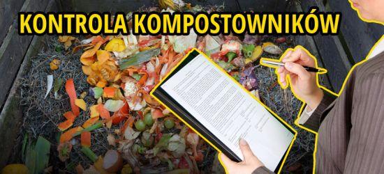 GMINA SANOK: Kontrola przydomowych kompostowników