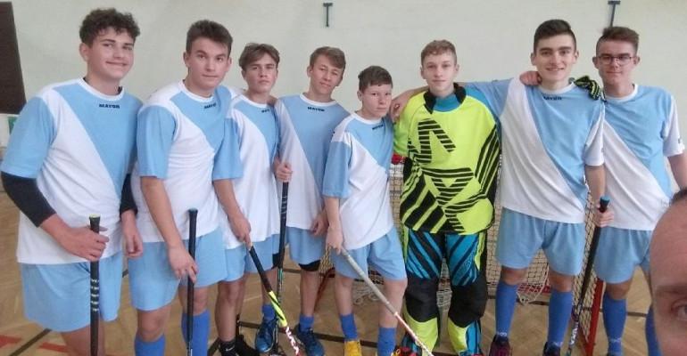 SP 3 najmocniejsze w półfinale wojewódzkim IMS chłopców w unihokeju (FOTO)