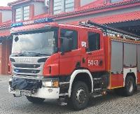 KRONIKA STRAŻACKA: Płonąca ciężarówka i seria wypadków