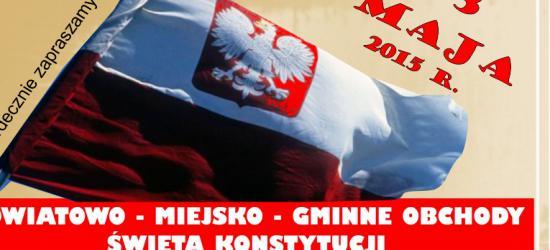 SANOK: 224. rocznica Uchwalenia Konstytucji 3 Maja. Zobacz program sanockich obchodów (TRANSMISJA MSZY ŚWIĘTEJ NA ŻYWO)
