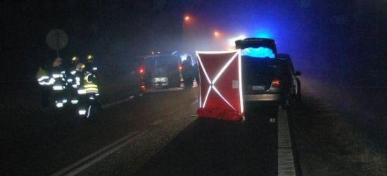 Tragedia na drodze. Nie żyje 60-letni mężczyzna