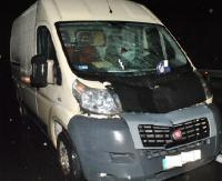 ZAGÓRZ: Pieszy zginął pod kołami samochodu (ZDJĘCIA)