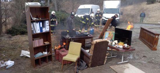 WATAHA: Strażacy z OSP Lutowiska na planie popularnego serialu (FOTO)