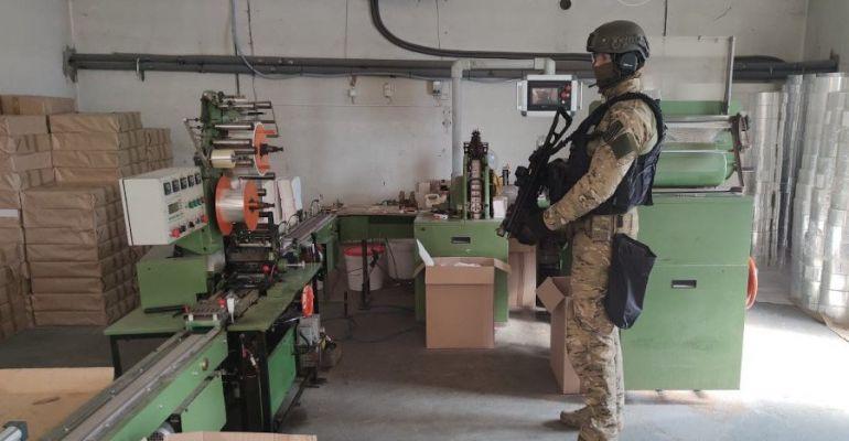 Zlikwidowana potężna fabryka papierosów (VIDEO, ZDJĘCIA)