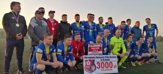 Ekoball Stal Sanok z okręgowym Pucharem Polski! Przełęcz Dukla pokonana po dogrywce (FILM, ZDJĘCIA)