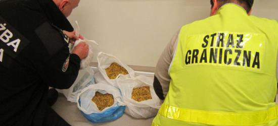 BYKOWCE / SANOK: 2,5 kilograma krajanki tytoniowej w busie jadącym do Holandii