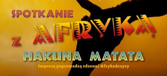 """,,Hakuna Matata"""", czyli spotkanie z Afryką w Jasiu Wędrowniczku"""