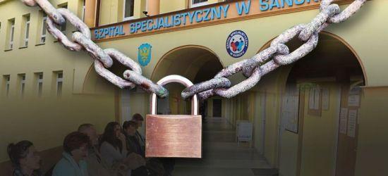 SANOK: Szpital zamknięty dla pacjentów! Jest tak źle?