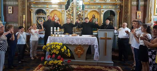 Relikwie Jana Pawła II w cerkwi w Międzybrodziu (ZDJĘCIA)