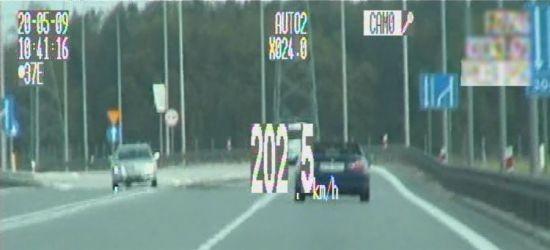 PODKARPACIE. Pomylił drogę z torem wyścigowym. 202 km/h na liczniku!