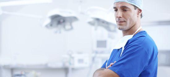 Podziękowania dla lekarzy, pielęgniarek i personelu sanockiego szpitala