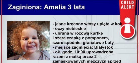 CHILD ALERT! 3-latka i jej matka porwane przez zamaskowanych mężczyzn!