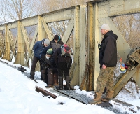 WATAHA 2: Ekipa filmowa na moście kolejowym na Zasławiu (ZDJĘCIA)