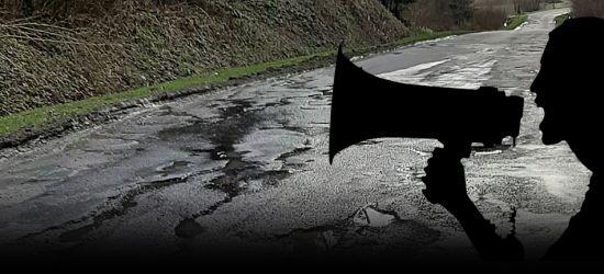 POWIAT: Droga w Załużu bez dofinansowania! Będzie blokada! (VIDEO, FOTO)