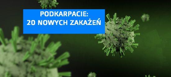20 nowych zakażeń na Podkarpaciu!