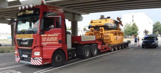 Przewoził ładunek za ciężki o 30 ton!