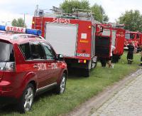 KRONIKA STRAŻACKA: Pożar składowiska śmieci, potrącenie pieszej i tłuste plamy na drogach powiatu