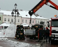 SANOK: Śnieg już jest, będzie i choinka (ZDJĘCIA)