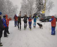 BIESZCZADY: Pogoda dawała w kość, ale zawodnicy z uśmiechem wspominali Olka Ostrowskiego. Zobacz relację z memoriału (ZDJĘCIA)