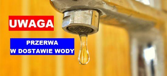 UWAGA SANOK: Przerwa w dostawie wody na Błoniach!