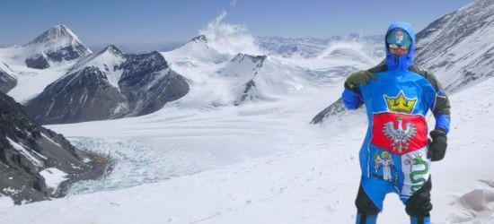 Sanoczanin chce zdobyć najzimniejszy szczyt Korony Ziemi. Potrzebne wsparcie (VIDEO, ZDJĘCIA)