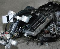 SANOK: Kradziony motocykl rozłożony na części (ZDJĘCIA)