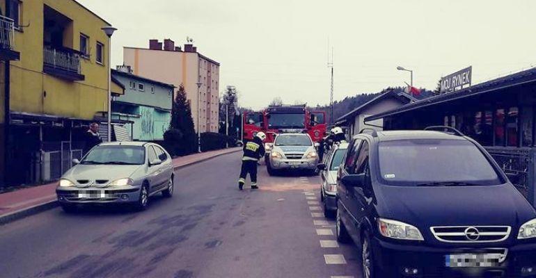 ZAGÓRZ: Strażacy w akcji na Placu Obrońców Węzła Zagórskiego (FOTO)