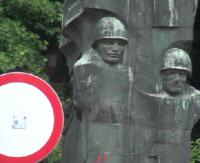 SANOK: Ostatnie dni radzieckiego pomnika w Sanoku. Dyskusja na sesji rady miasta (FILM, ZDJĘCIA)