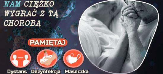 Banerowa akcja Macieja Kosztołowicza! Dystans. Dezynfekcja. Maseczka (VIDEO, FOTO)