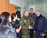 GRANICA: Organizowanie misji w punktach ogniskowych w Bieszczadach (ZDJĘCIA)