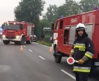KRONIKA STRAŻACKA: Pożary, wysyp gniazd szerszeni oraz interwencje drogowe