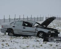 REGION: Uciekli z miejsca wypadku. Zostawili rannego kolegę (ZDJĘCIA)