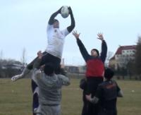 Siła, zadziorność i współpraca. Zobacz jak trenuje Rugby Klub Sanok (FILM)