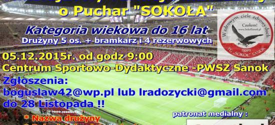 """SANOK: Mikołajkowy Turniej w Piłce Nożnej o Puchar """"Sokoła"""""""