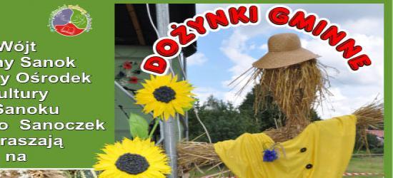 GMINA SANOK: Święto rolników i gospodyń. Dożynki gminy Sanok