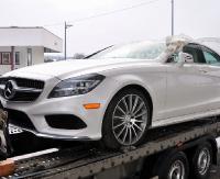 GRANICA: Mercedesy kupione w USA jako odpad zatrzymane na przejściu granicznym