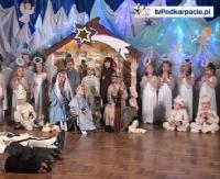 """PWSZ SANOK: Piękny, świąteczny spektakl z udziałem przedszkolaków z """"trójki"""". Ależ oni są zdolni! (FILM, ZDJĘCIA)"""